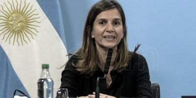"""El IFE logró que 3 millones de personas """"no caigan en la pobreza"""", aseguró Raverta"""