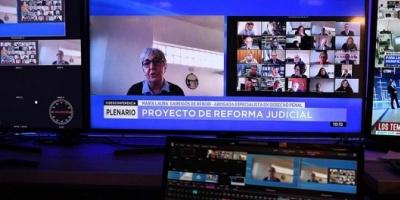 Jueces, fiscales y sindicalistas exhiben diferencias sobre la oportunidad de la reforma judicial
