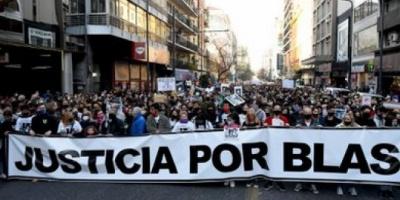 Córdoba: una multitudinaria movilización reclamó Justicia por Blas Correas, el adolescente asesinado por policías