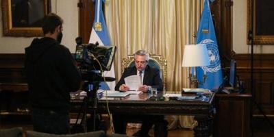 """Fernández: """"Le pido a Irán que coopere con Argentina para avanzar en la investigación del atentado a la AMIA"""""""