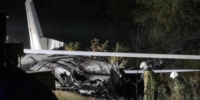 Una veintena de muertos al estrellarse un avión militar en el noreste de Ucrania