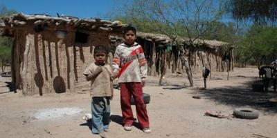 El 56,3% de los chicos menores de 14 años de la Argentina son pobres