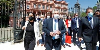 """Alberto Fernández: """"Mi deber es terminar la tarea que empezó Néstor y siguió Cristina"""""""