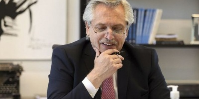 "Alberto Fernández dice que sintió ""como un respaldo"" la carta de Cristina Kirchner"