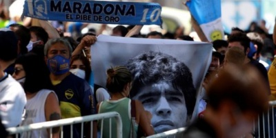 """""""Quiero que me embalsamen y me exhiban"""": el pedido que dejó Diego Maradona ante un escribano público"""