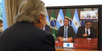 Alberto Fernández y Bolsonaro descongelaron las relaciones y buscarán tener una agenda común