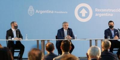 """Alberto Fernández: """"Argentina necesita que la inversión privada venga, desarrolle proyectos y dé trabajo"""""""