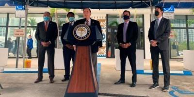 Miami aprobó una resolución que da prioridad a sus residentes para recibir la vacuna contra el COVID-19