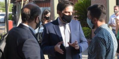 Trotta se reunió con dirigentes del Frente de Todos y apoyó la candidatura de Aragón para gobernador