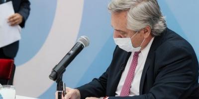 Alberto Fernández promulgó la modificación del Impuesto a las Ganancias
