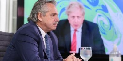 "Alberto Fernández insistió con un ""canje de deuda por acción climática"""