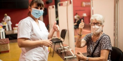 Se distribuyen más vacunas y Argentina superará los 8.000.000 de personas vacunadas