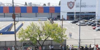 Murió una mujer de 86 años en el vacunatorio del club San Lorenzo