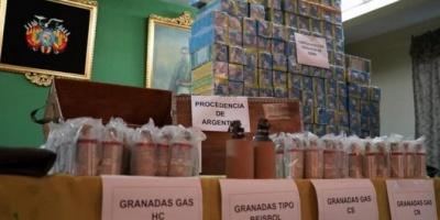 Bolivia halló más documentación sobre pertrechos y municiones llegados desde Argentina