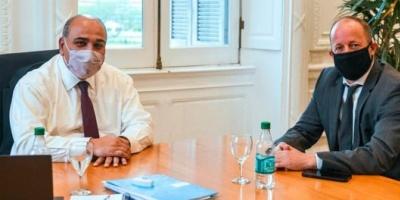 Manzur recibió a Insaurralde, el nuevo jefe de Gabinete bonaerense