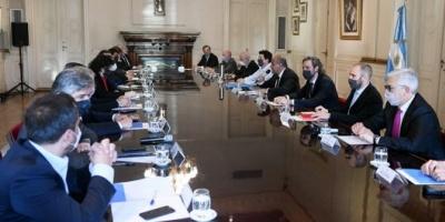 El Gabinete deliberó con eje en la economía y la creación de puestos de trabajo