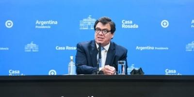"""Moroni: """"El objetivo es mantener el impuesto a las Ganancias para sólo 10% de los asalariados"""""""