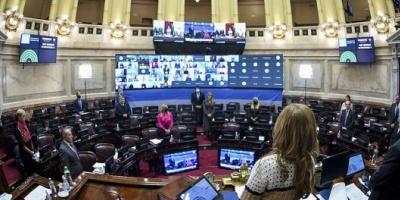 A diferencia de lo que pasa en Diputados, en el Senado hay consenso para la presencialidad
